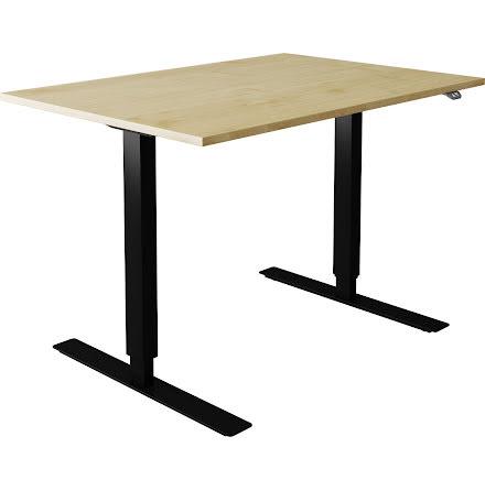 Skrivbord el björk 1400x800