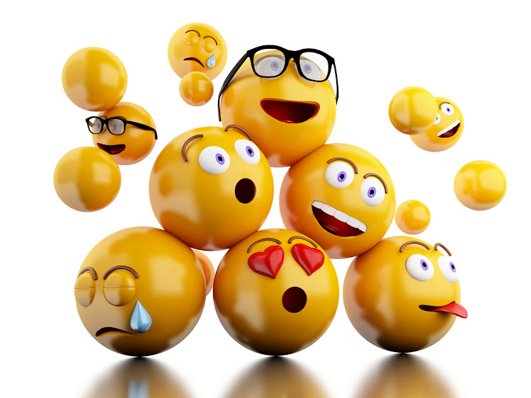 3d Emojis icons with facial expressions emoticons