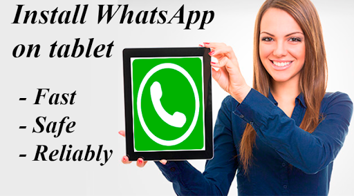 Set WhatsApp on Tablet