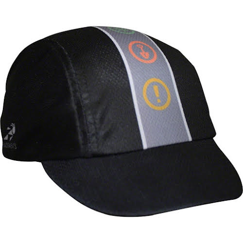 Headsweats IMBA Cycling Cap: Black