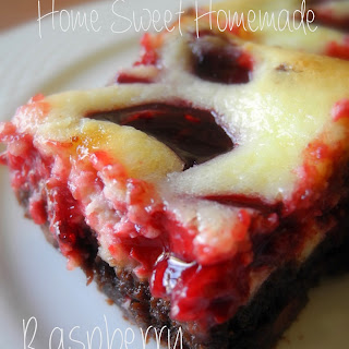 Rasberry Cheesecake Brownies