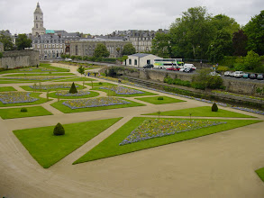 Photo: There are several large contiguous gardens in the Old Town.