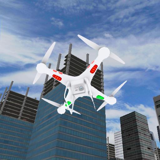 3D無人機飛行模擬器遊戲 模擬 App LOGO-APP試玩