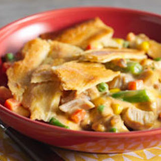 Easy Cheesy Chicken Pot Pie.
