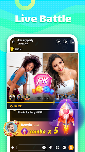 Ola Party - Live, Chat, Game & Party 1.1.5 screenshots 2