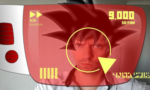 DBZ Scouter Power Glasses 4.4 screenshots 1