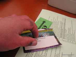 Photo: Hatseflats!! En daar is de nieuwe knipkaart voor morgen inclusief routebeschrijving! We gaan nu ddoor naar dag 3!
