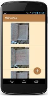 MultiBook - náhled