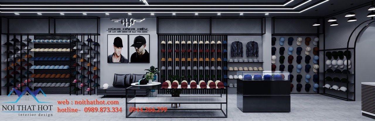 thiết kế nội thất cửa hàng