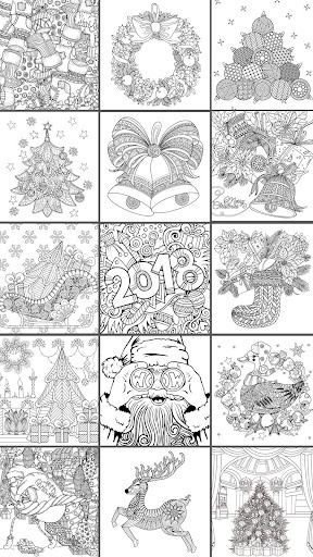 2018  Christmas Coloring Book 2.9.2 screenshots 1