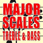 Major Scales Treble and Bass