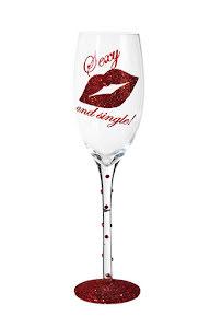 Champagneglas, Sexy & Single