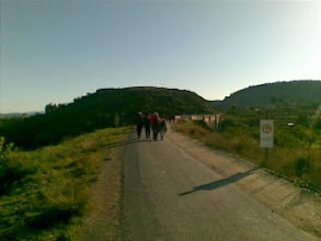 Photo: De ruta senderista. Puente Via verde y Begastri-desde mi Nokia E61i