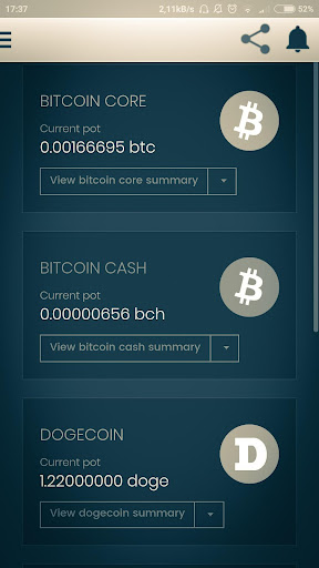 Smart Bitcoin Miner Wallet- Earn free money screenshot 1