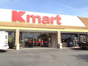 Photo: A sunny day at the Salinas, CA Kmart store.