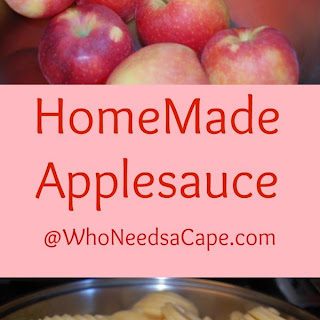 Home Made Applesauce – Falls Best Treat!