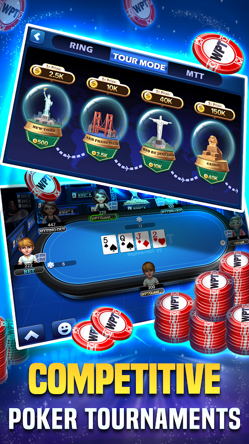 PlayWPT - Texas Holdem Poker- screenshot