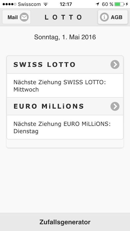 SwiГџ Lotto Euro Millions