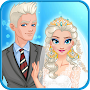 Snow Queen Wedding APK icon