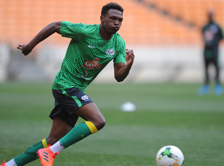 Bafana Bafana striker Lebo Mothiba says he has one ambition and that is to bang in the goals for the national team against Seychelles.