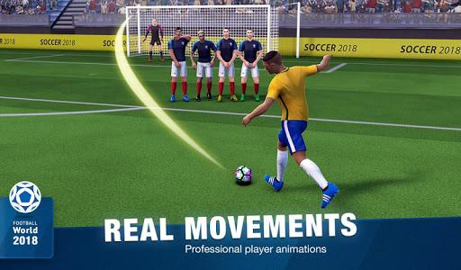 FreeKick Soccer World 2018 1.6.6 gameplay | by HackJr.Pw 18
