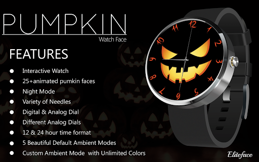 Horror Watch Face Animated