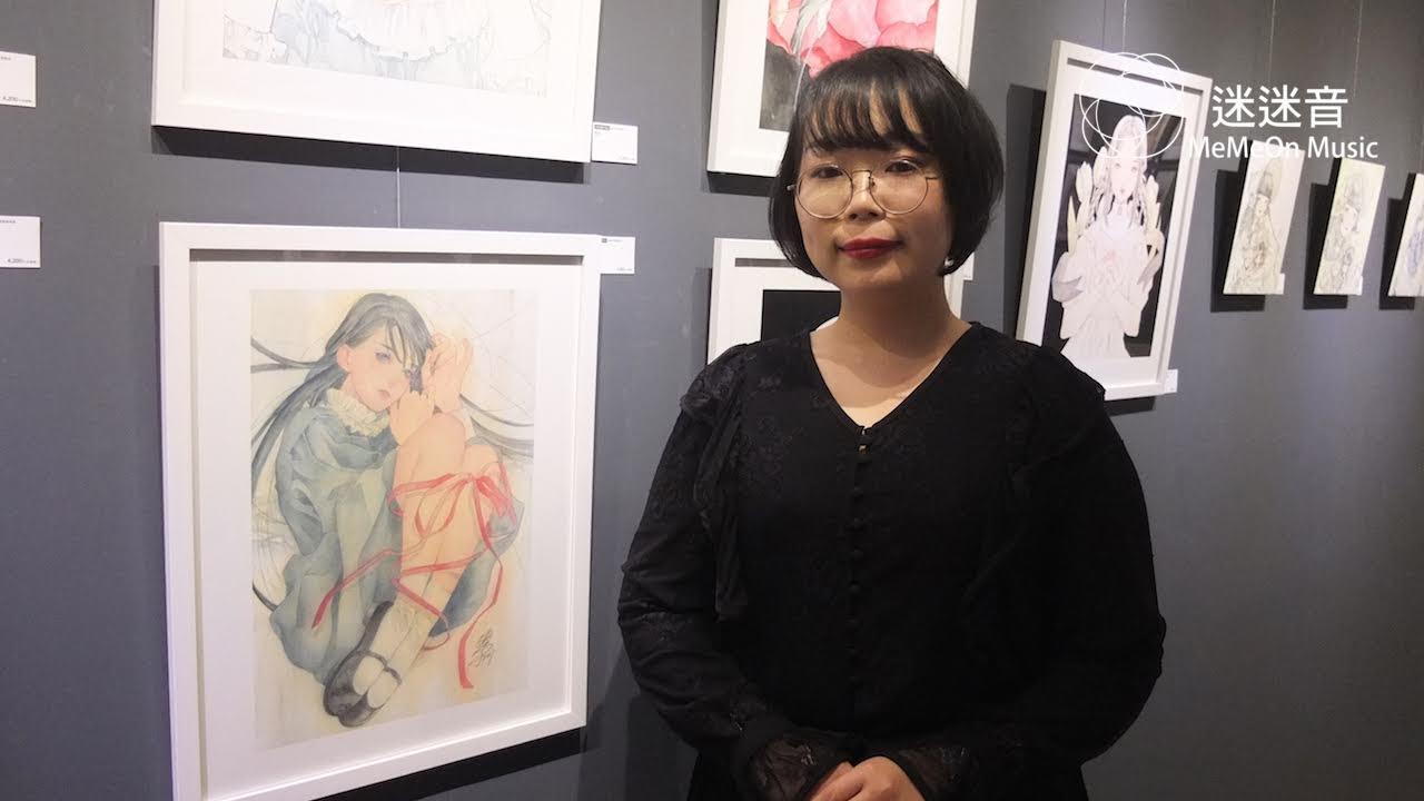 【迷迷現場】動漫風格搭配透明水彩 日本插畫家 佐田鳩子 「希望能讓筆下的女孩子成為最可愛的存在。」