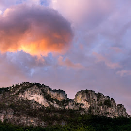 Cloud over Seneca by Kevin Frick - Landscapes Cloud Formations ( sky, mountiain, west virginia, clouds )