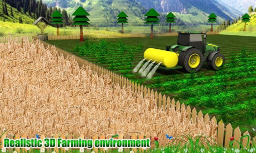 Tractor - Harvesting Simulator