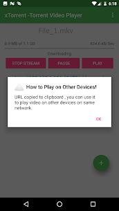 xTorrent Apk -Torrent Video Player 3