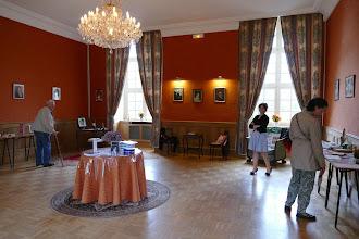 Photo: Exposition dans le Salon Delphine de CUSTINE