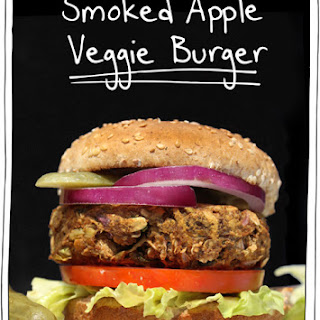 Smoked Apple Veggie Burger