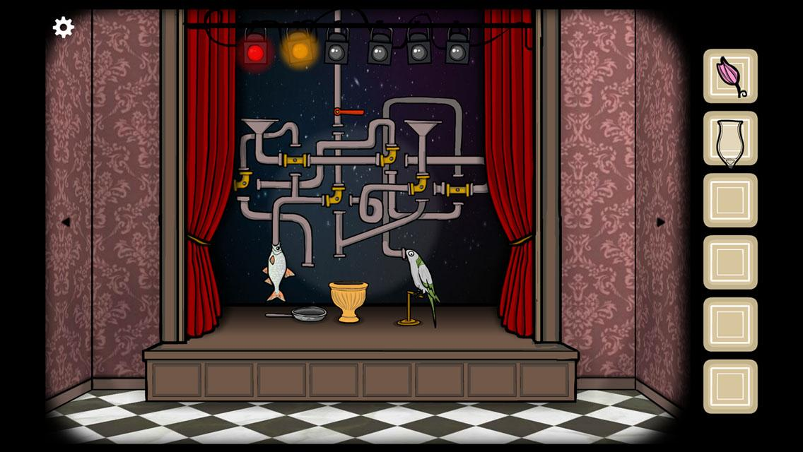 Cube Escape: Theatre- screenshot