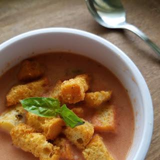 Farm Fresh Tomato Basil Soup.
