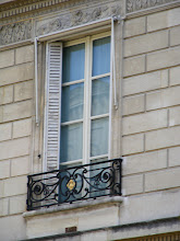 Photo: However, painting of some of the upper level shutters now seems a bit overdue.