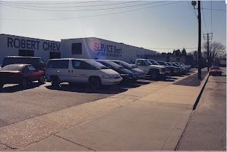 Photo: Robert Chevrolet's old Lot