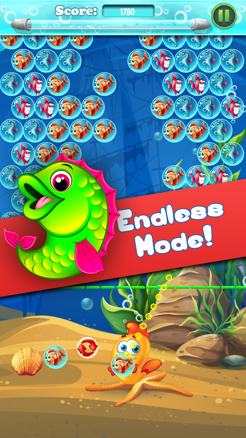 Bubble shooter fishing games android apps on google play for Bubble fish game