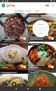 Yummly Recipes & Shopping List Screenshot