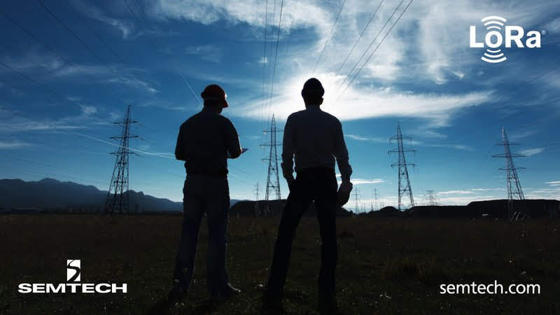 Semtech's LoRa Devices Create Smarter Grids with Accurate Line Fault Detection