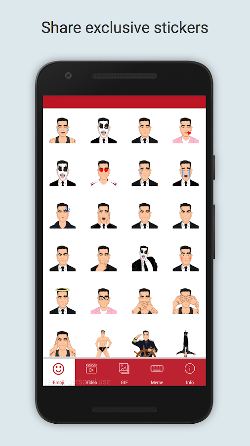 Robbiemoji by Robbie Williams- screenshot