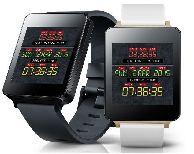 Time Machine Watch Face Android Apps On Google Play