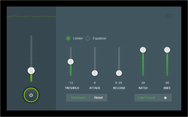 audio channel chrome web store tab audio limiter equalizer and volume control