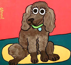 Photo: Chocolate Poodle 8 x 10