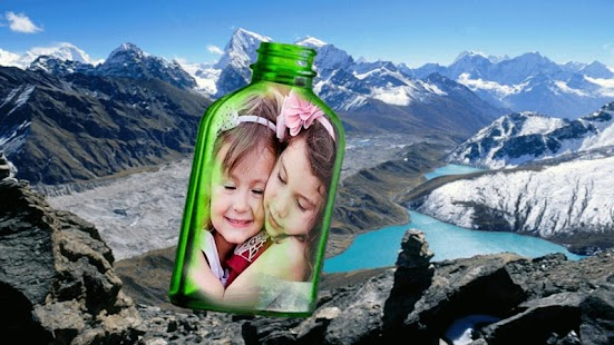 Bottel Phto Frame - náhled