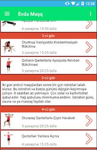 Evdə Məşq Proqramları - náhled
