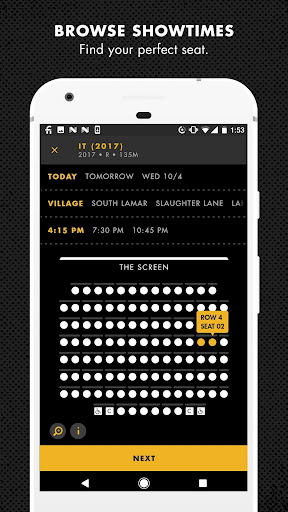 Alamo Drafthouse: Times + Tickets 5.5.2 screenshots 1
