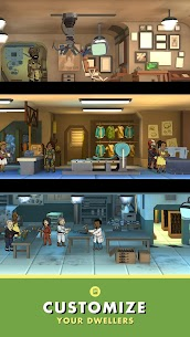 Fallout Shelter Apk + Mod (Caps/Food/Water/Energy) + Data Android 3