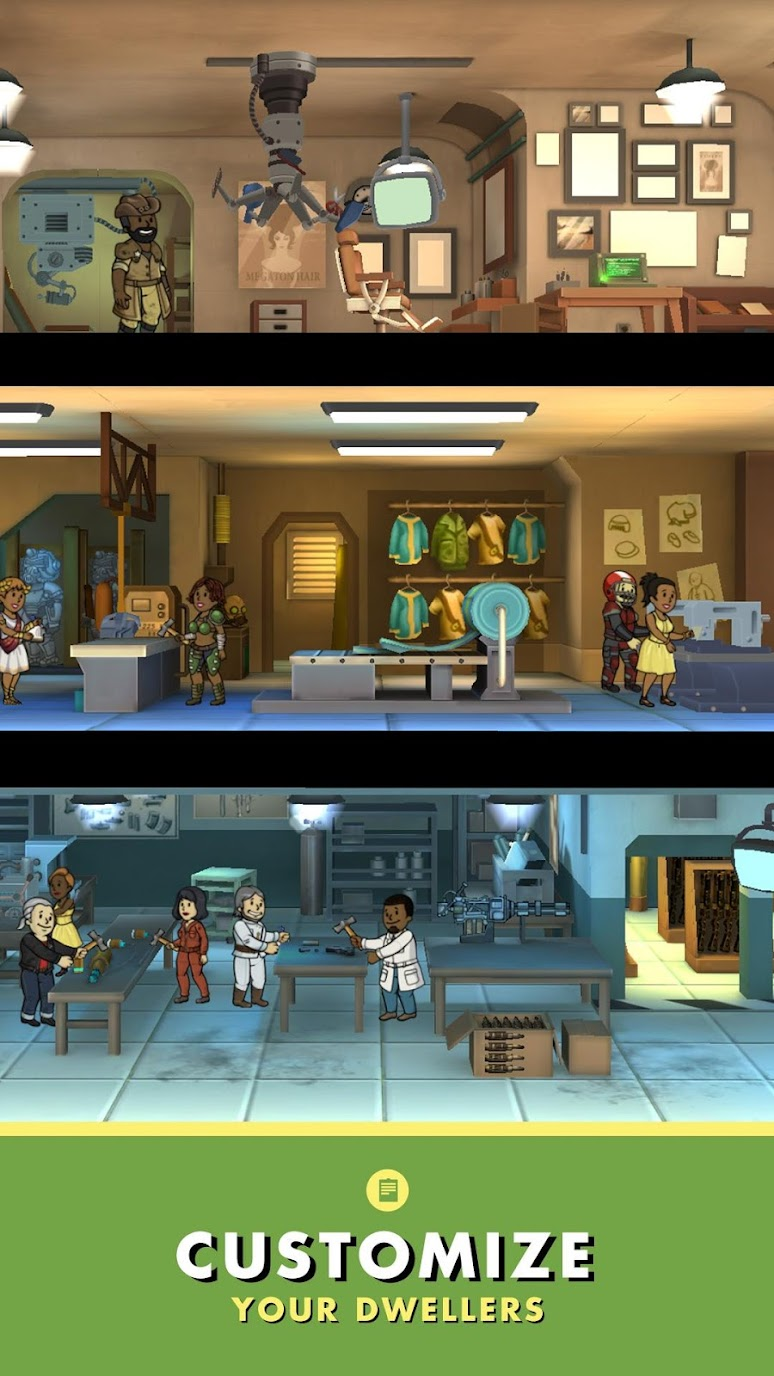 Fallout Shelter (MOD, Unlimited Money) 3