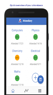 Attendiary: Simple Attendance Tracker for Students - náhled