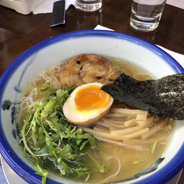 Chicken broth based ramen